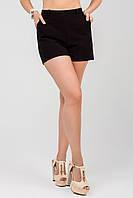 Женские шорты в черном цвете с карманами 4511117