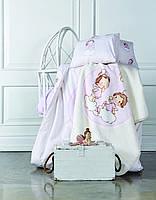 Комплект постельного белья для новорожденных Karaca Home Bulut