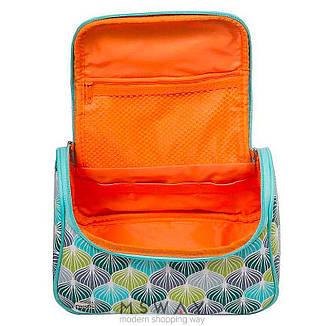 Reed - Косметичка 8093 Reed Meringue мятно зелено белая чемодан ручка средняя, фото 2