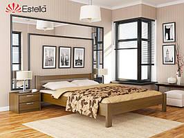 Дерев'яне ліжко Рената (8 варіантів кольорів)