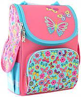 Рюкзак Smart PG-11 554454 Butterfly pink каркасный **