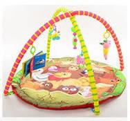 Развивающий коврик для младенца с дугами и погремушками 325-90-91-92