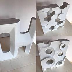 Коллаж готовых блоков.