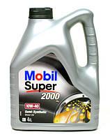 Моторное масло Mobil Super 2000 10w40 4л SL/CF