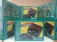 Игровая 16 битная приставка Sega Magistr Drive 2 со встроенными 160 играми и поддержкой картриджей