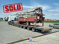 Вот такую штуку мы сегодня отправили в город Днепр!🤣😅  Этот огромный насос Putzmeister будет хорошо служить нашим клиентам.