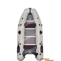 Моторная надувная лодка четырехместная килевая Kolibri КМ-330DSL