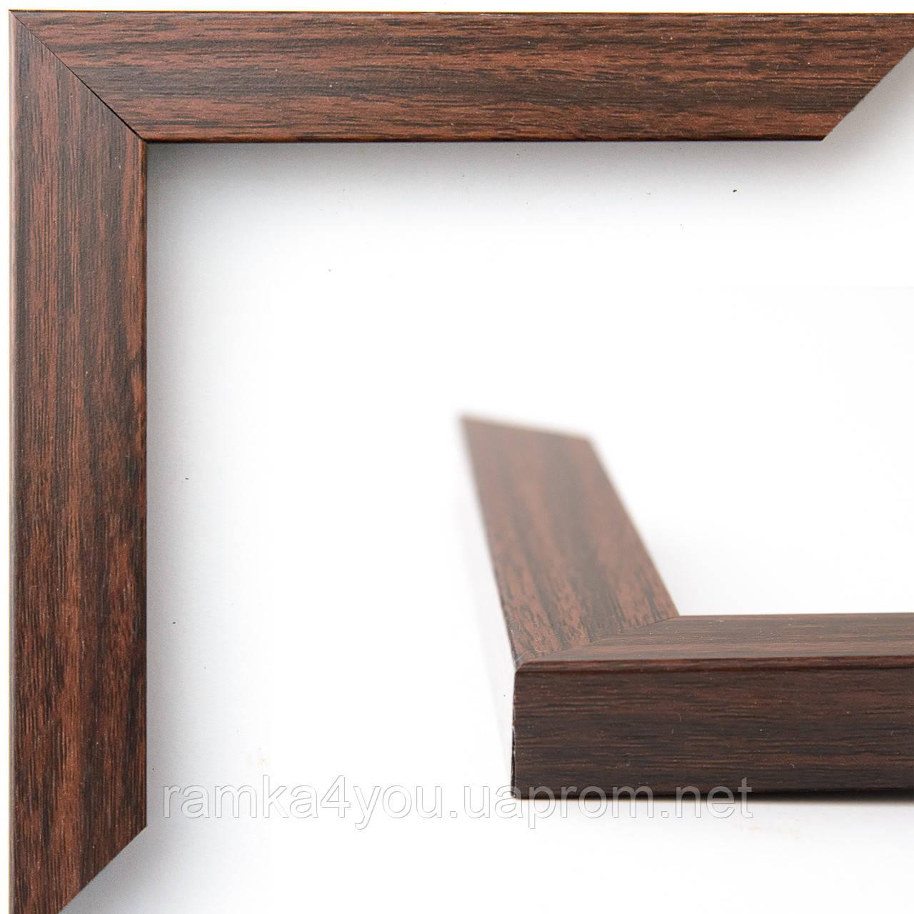 Рамка 40х50 2216-46MF коричневая