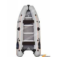 Моторная надувная лодка пятиместная килеваяKolibri КМ-360DSL+Бесплатная доставка