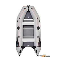 Моторная надувная лодка трехместная килевая  Kolibri КМ-330D
