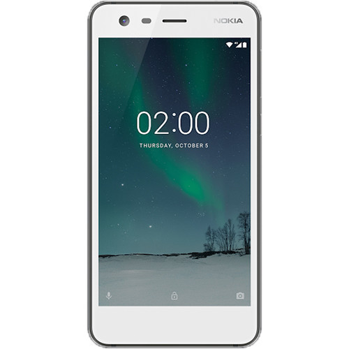 Дисплей для Nokia 2 Dual Sim (TA-1029/TA-1035) с тачскрином белый Оригинал