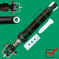 Амортизатор 100 N 165-260 mm втулка d 14 mm Indesit, Ariston на гайке, 2-направляющих по граням