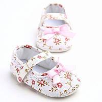 Детские нарядные пинетки слипоны, сандалики для новорожденной девочки на 3, 6, 9, 12, 18 месяцев