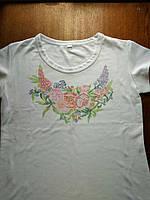 Женская футболка для вышивки бисером. размер XL, фото 1