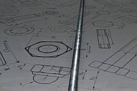 Шпилька М8 DIN 975 нержавеющая сталь А4