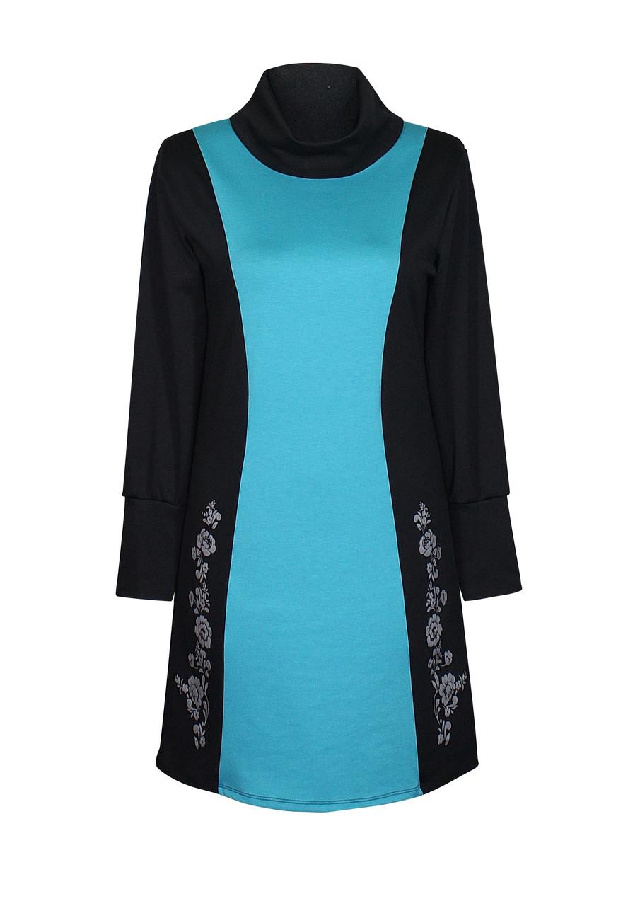 нарядное платье с морской волной от интернет-магазина teens.ua Украина