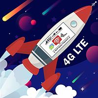 Мечтаешь о высокоскоростном интернете? Получи мощнейший 4G модем Huawei K5150 совершенно бесплатно!