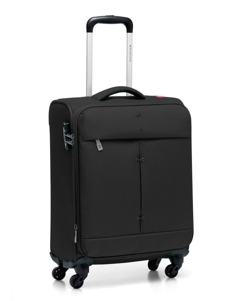 Маленький текстильный чемодан Roncato Ironik на 4-х колесах