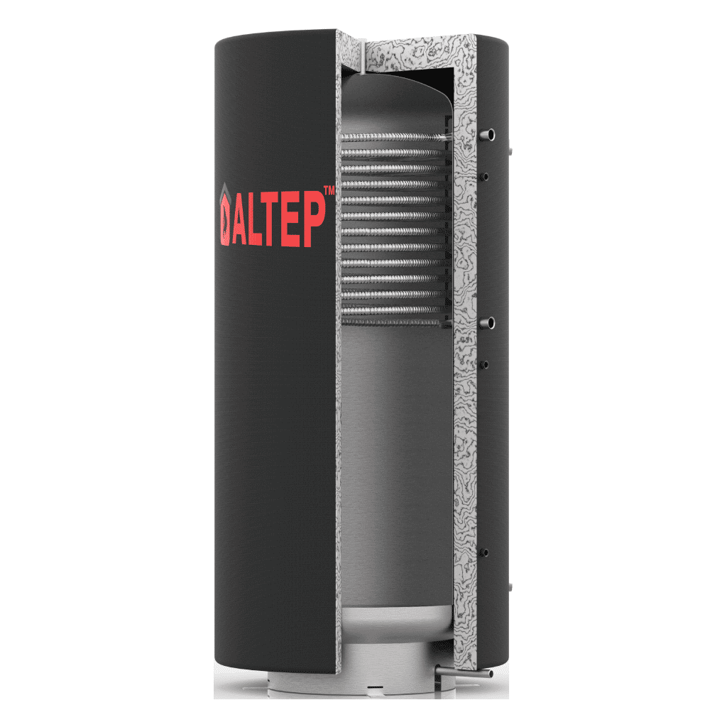 Аккумулятор тепла Альтеп ТА1в. 6000 (теплобак с верхним теплообменником)