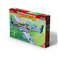 Истребитель P-51D-25 Big Beautiful Doll. 1/72 MISTER CRAFT D-270