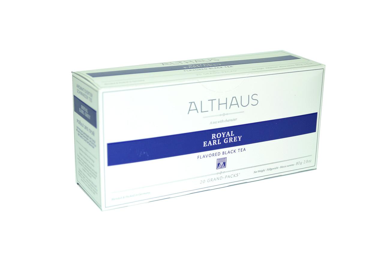 Чай Althaus Grand Packs Royal Earl Grey 20x4g(10)