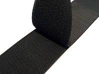 Липучка для одежды и обуви метражная 10см цвет Черный
