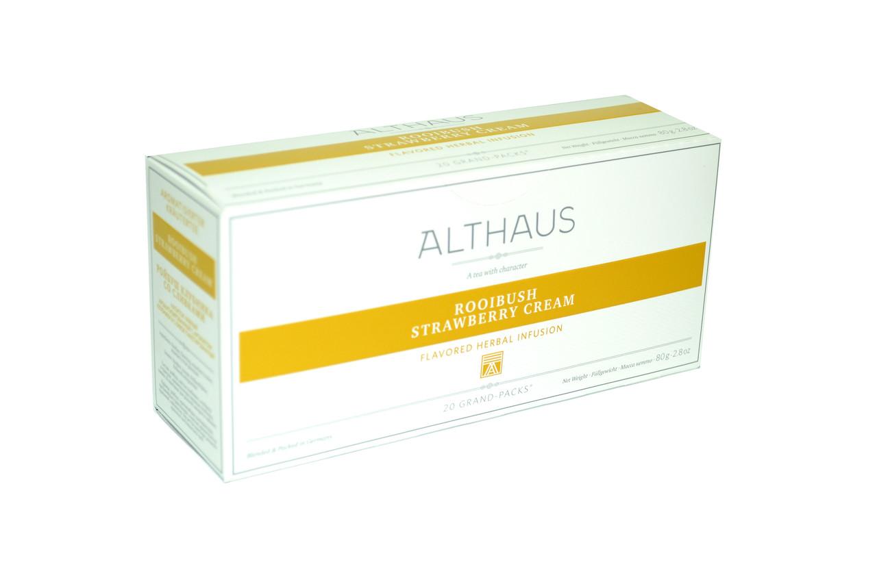 Чай Althaus Deli Packs RooibushStrawberryCream 20х1,75g(12)