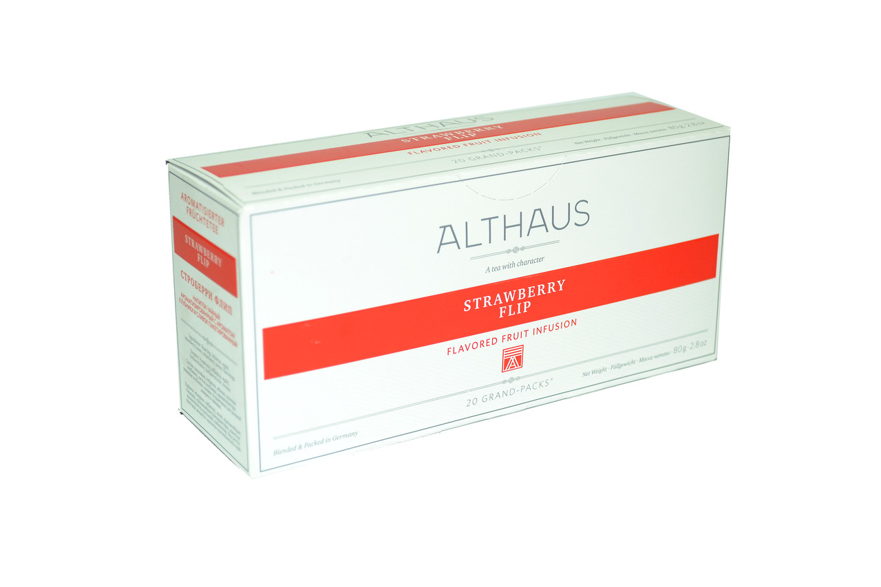 Чай Althaus Grand Packs Strawberry Flip 20x4g(10)