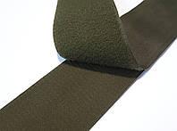 Липучка для одежды и обуви метражная 10см цвет Хаки