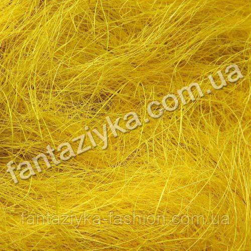 Натуральный сизаль 40г, желтый