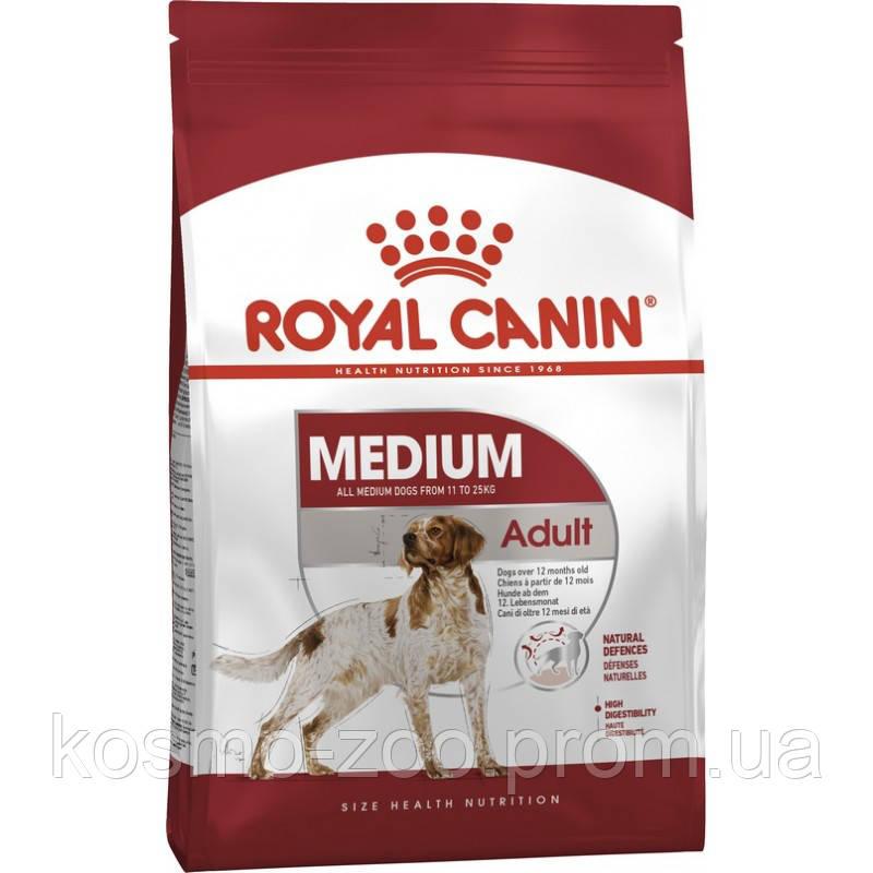 Сухой корм Роял Канин для собак средних пород (Royal Canin Medium Adult), 4 кг