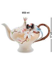 Чайник заварочный фарфоровый ''Магнолия'', 850 мл.,  (Pavone) FM-73/1, Италия