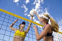 Как выбрать сетку для пляжного волейбола?