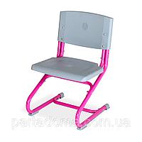 Ортопедический растущий стул Дэми розовый