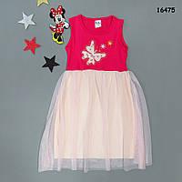 """Летнее платье """"Бабочка"""" для девочки. 3-4;  7-8 лет, фото 1"""