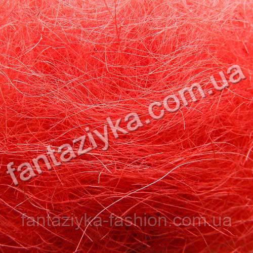 Натуральный сизаль 40г, красный