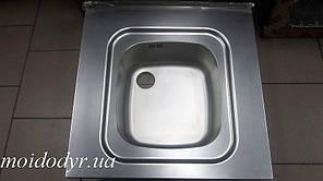 Мойка кухонная из нержавеющей стали Franke 600 х 600 декор накладная