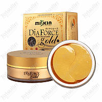 Гидрогелевые патчи с золотом Dia Force Gold Hydro Gel Eye Patch