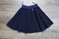 Школьная юбка для девочек.( Ткань- мадонна). 134-  рост