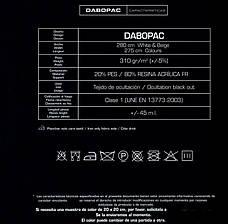 BlackoutНегорючий DABOPAC FR прорезиненный ширина 280см ИспанияСертификат, фото 2