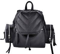 Кожаный рюкзак Jizuz К 750 Black, K282210B, 6 л, женский, черный 6f7934aa200