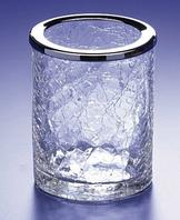 Windisch Addition- стакан 75*100мм  (золото) растрескавшееся стекло