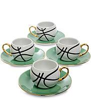 Кофейный набор на 4 персоны Мини Баскетбол FD-14