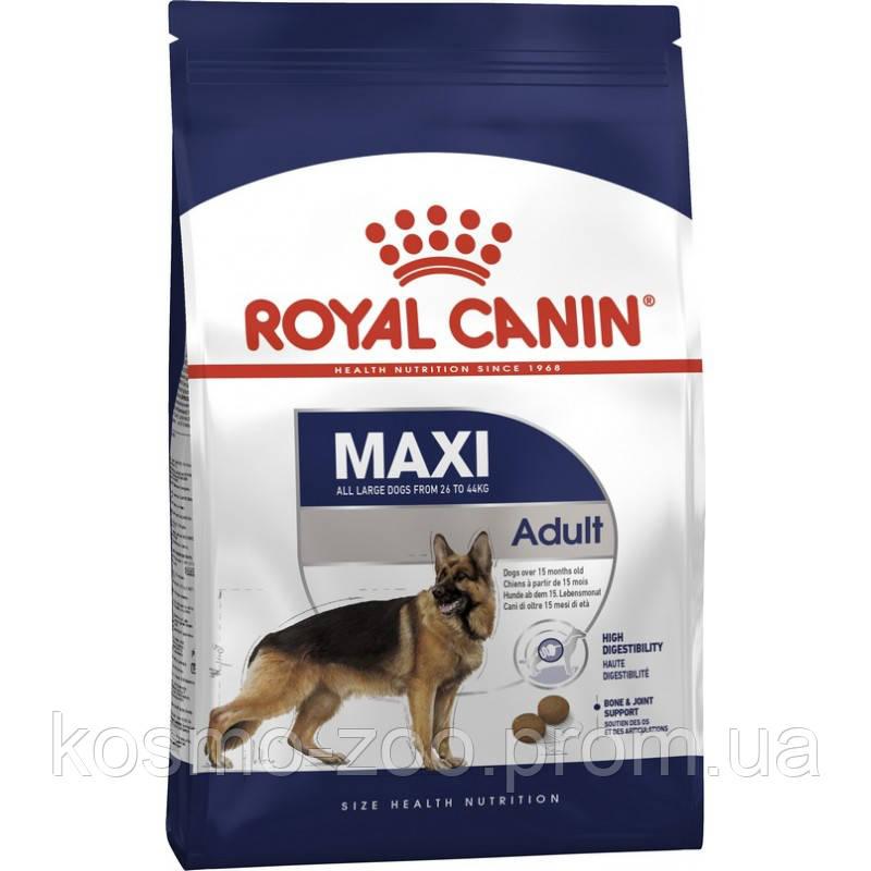 Сухой корм Роял Канин для собак крупных пород (Royal Canin Maxi Adult), 4 кг