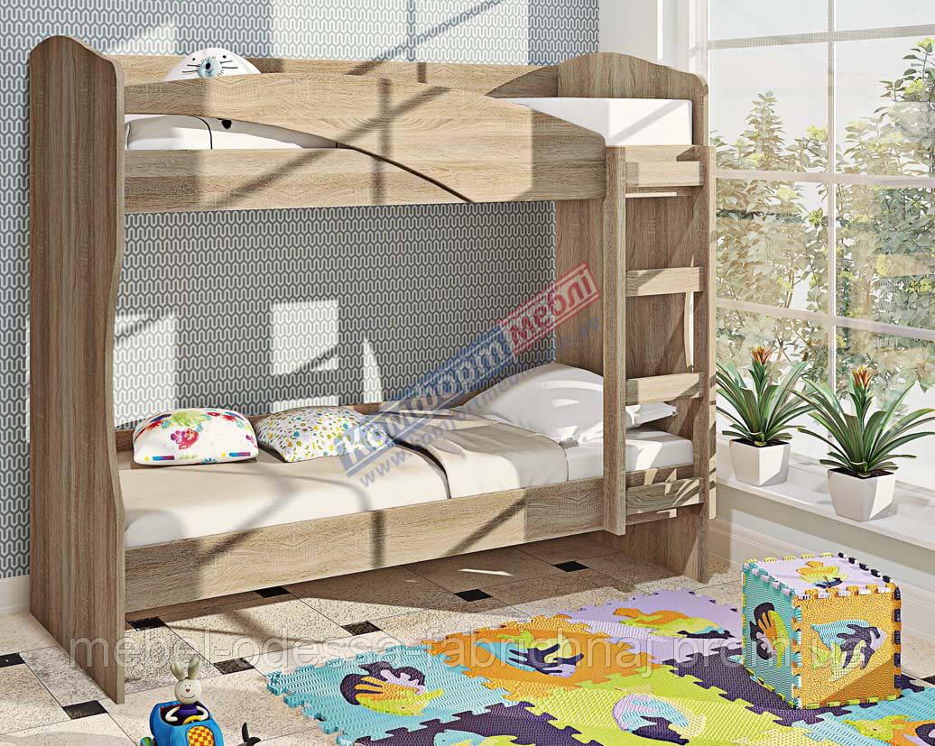 Кровать К-130 двухъярусная 900 мм