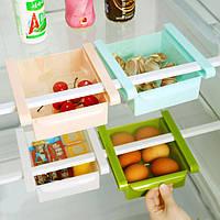 Контейнер органайзер для хранения продуктов в холодильнике Зеленый