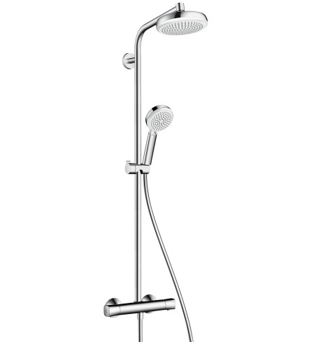 Душевая система Hansgrohe 27264400 Crometta 160 Showerpipe