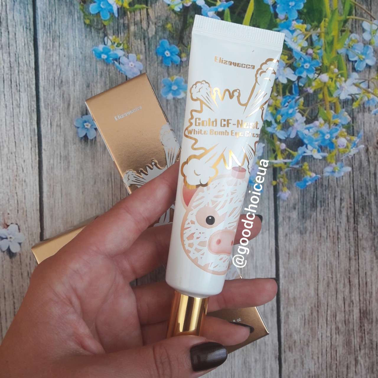 Крем для кожи вокруг лаз Elizavecca Gold CF-Nest White Bomb Eye Cream
