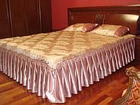 Пошив покрывала и декоративных подушек.