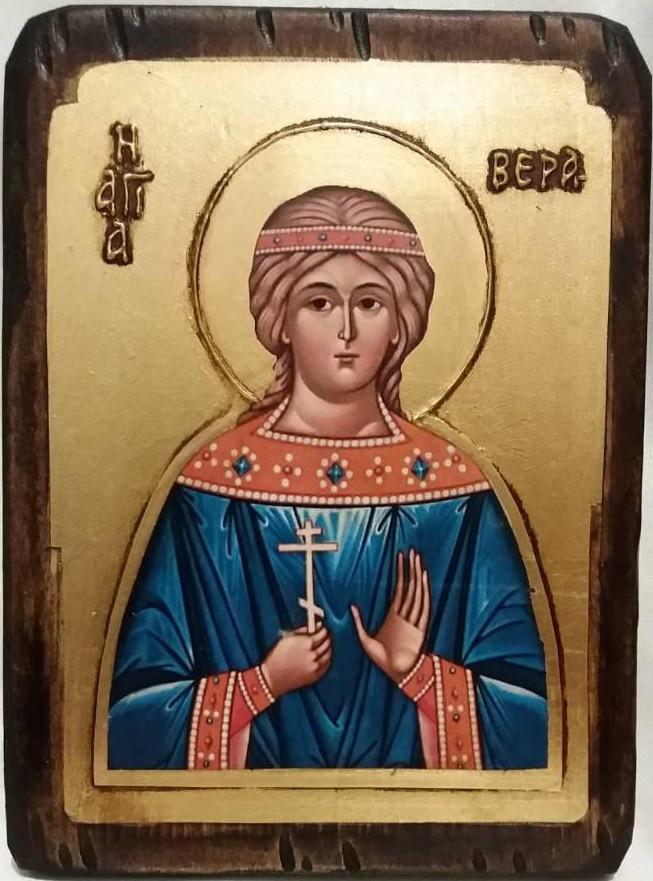 Икона святая Вера